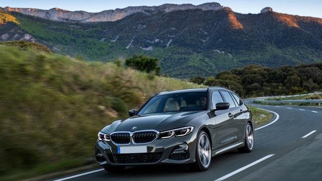 BMW Serie 3 station
