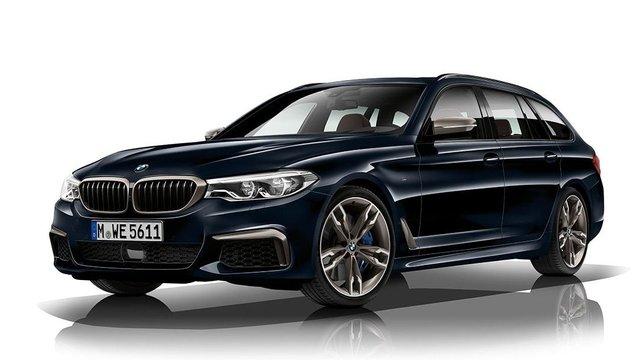 BMW Serie 5 station