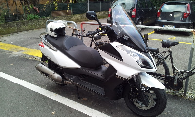 Kymco Downtown 300i ABS - Sorprendente