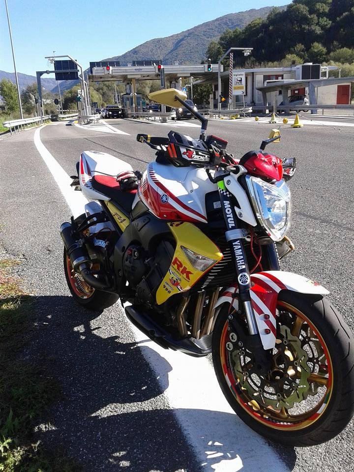 Yamaha FZ1  - fz1 by abarth assetto corse