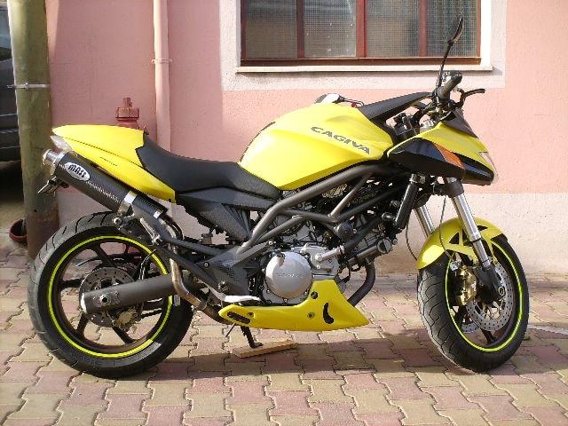 Cagiva V Raptor 650 - Moto facile per cominciare