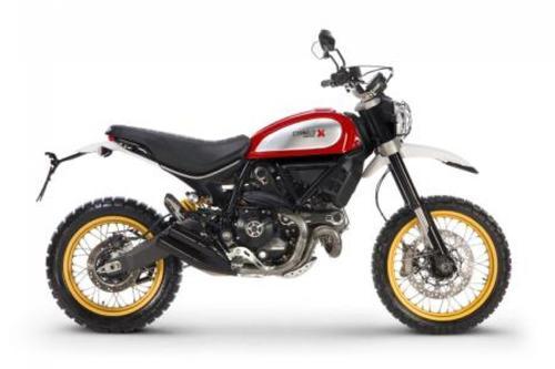 Ducati Scrambler Desert Sled (Red Dusk)