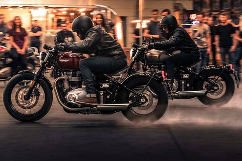 Triumph Bonneville Bobber