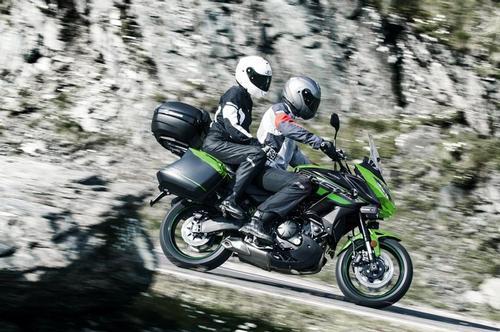 Kawasaki Versys 650 ABS Candy Lime Green