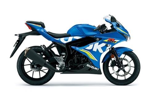 GSX R 125 ABS Blu GP
