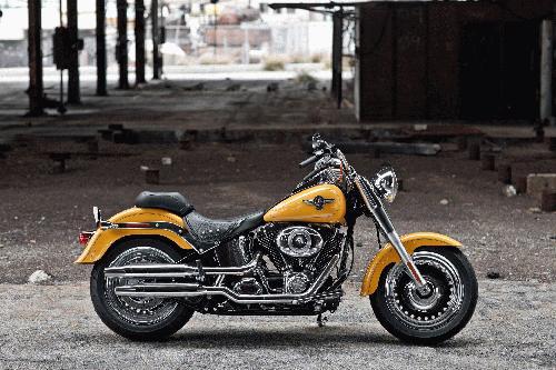 Harley-Davidson Softail Fat Boy FLSTF ABS