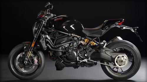 Monster 1200 R (Thrilling Black)