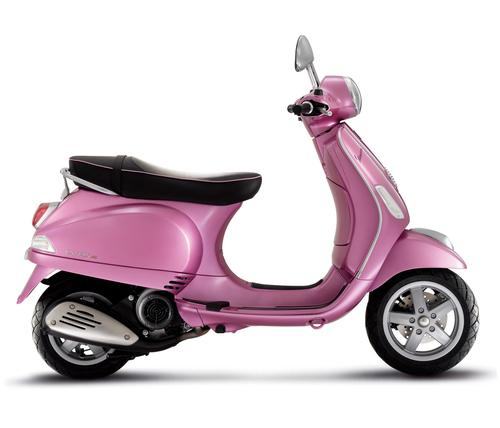 Piaggio Vespa 50 LX 2T Rosa Chic