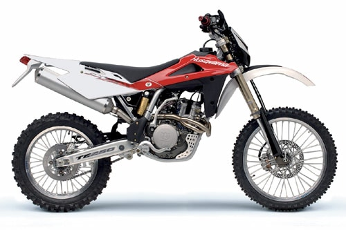 test gamma enduro husqvarna 2007 dueruote. Black Bedroom Furniture Sets. Home Design Ideas