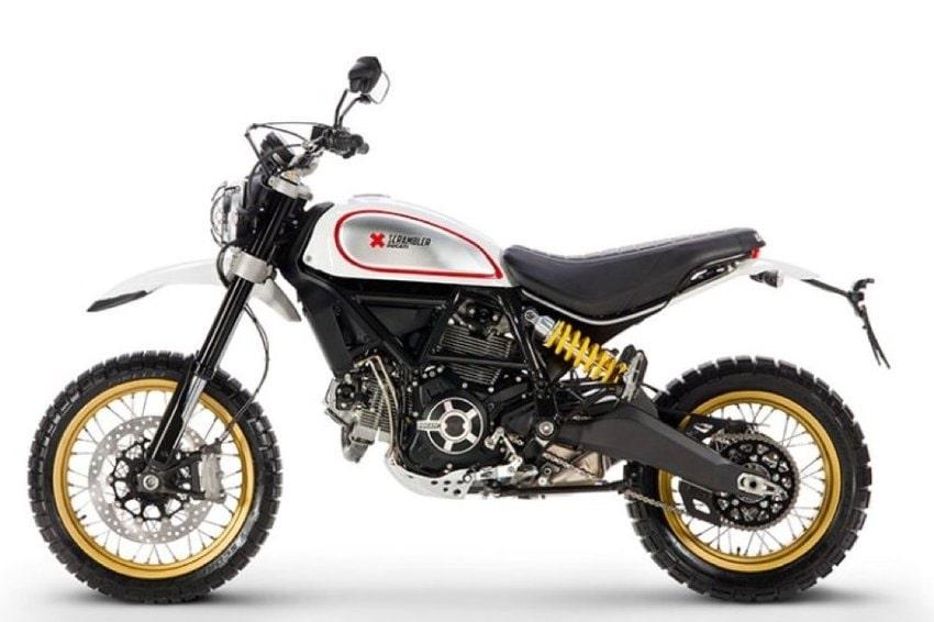 Ducati Scrambler Desert Sled White Mirage Prezzo Scheda Tecnica E