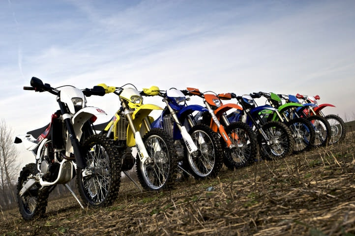 Comparativa Enduro 250