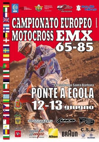 Campionato Europeo EMX65-85