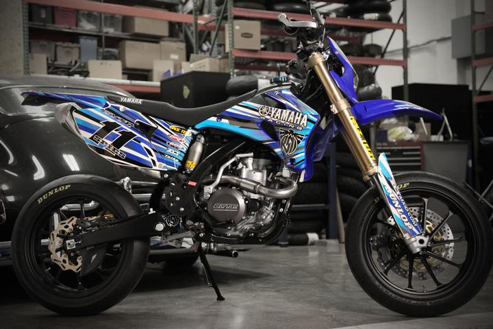 Yamaha WR450 Supermoto by Roland Sands