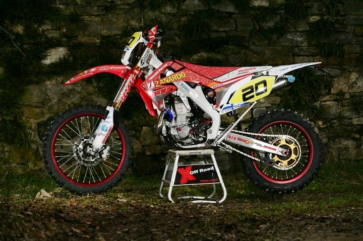 HM Honda CRE 480 Jolly Racing