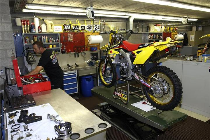 Inside Team Suzuki