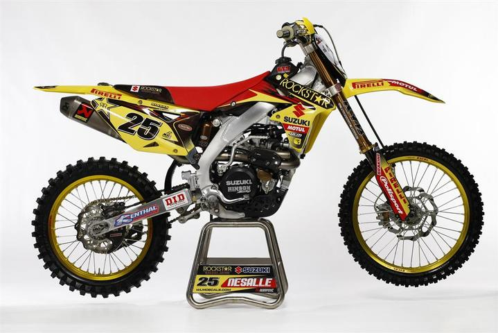 Team Rockstar Energy Suzuki World MX1