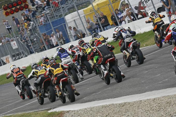 Husqvarna / Dunlop / Yamaha SM Cup 2012