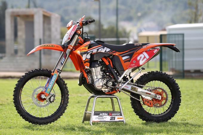 Test Enduro Factory Bike