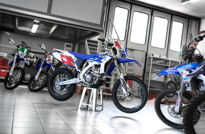 Yamaha WR450F kit
