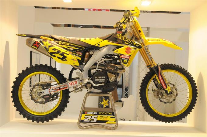 Team Rockstar Energy Suzuki 2014