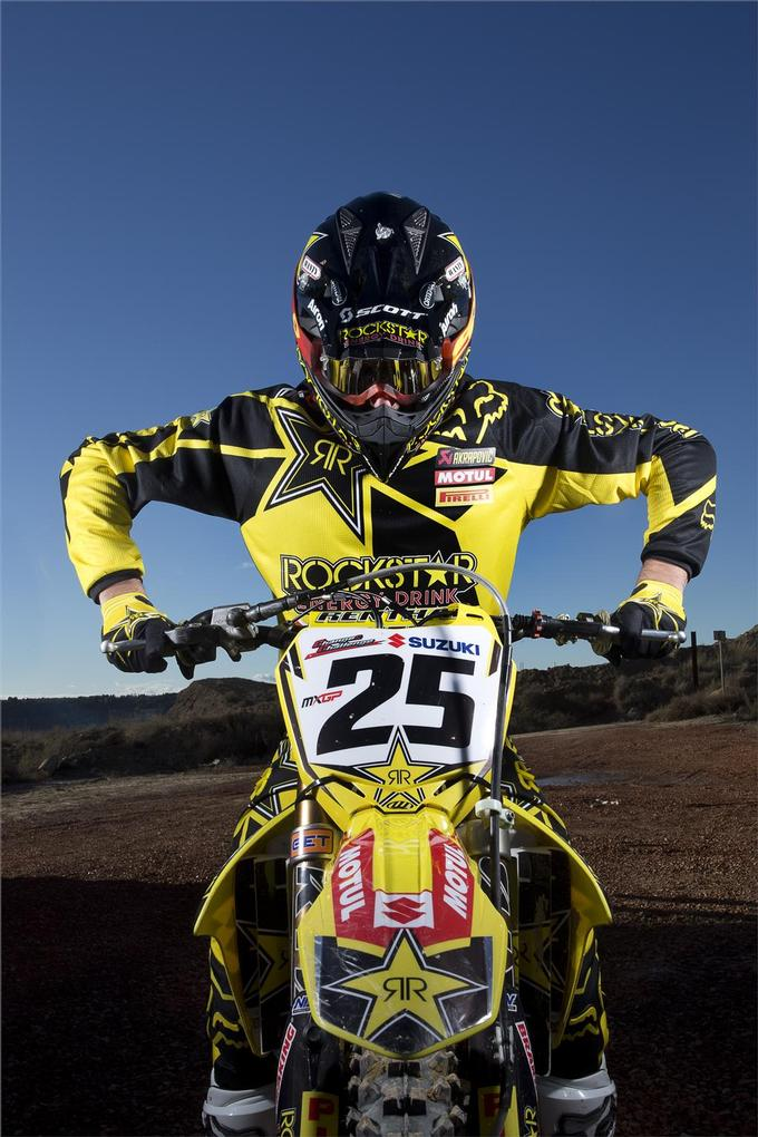 Team Suzuki Factory Rockstar Energy