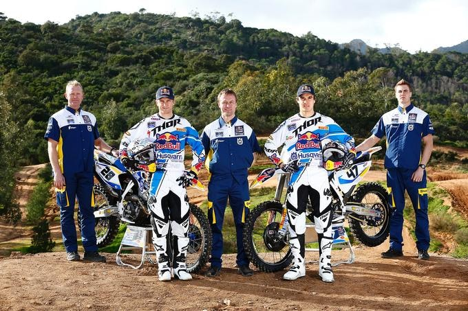 Team RedBull IceOne Husqvarna Factory Racing 2014
