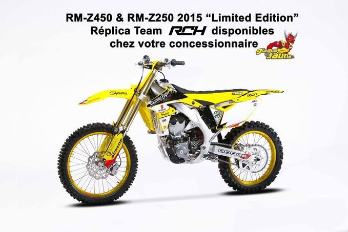 Suzuki RM-Z450 Limited Edition