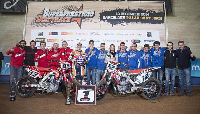 Superprestigio Dirt Track 2014