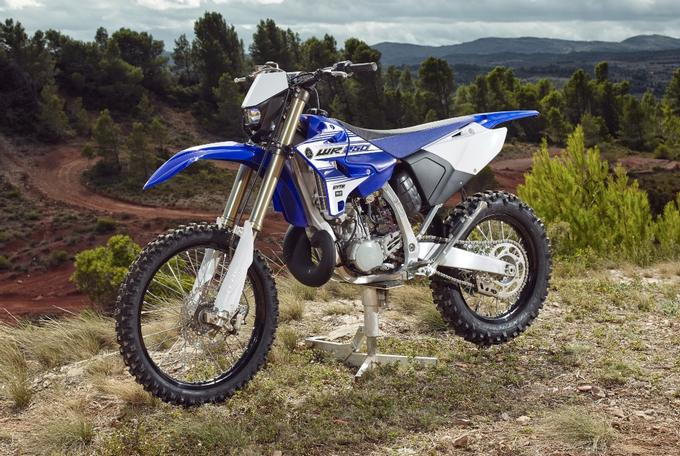 Nuova Yamaha WR250 2T