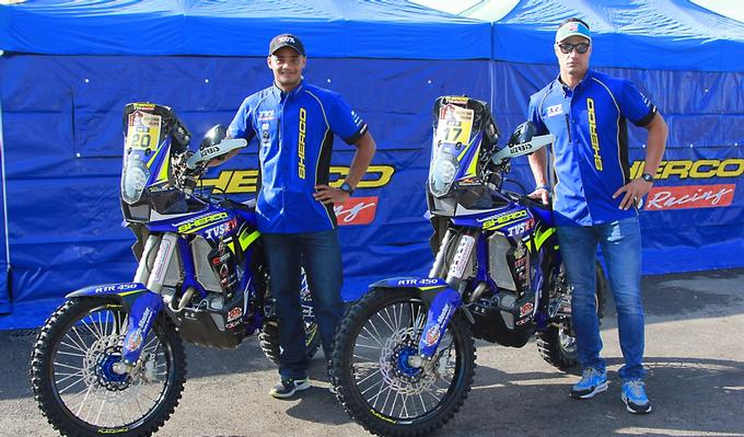 Sherco TVS Factory Rally