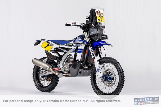 New Yamaha WR450F Rally