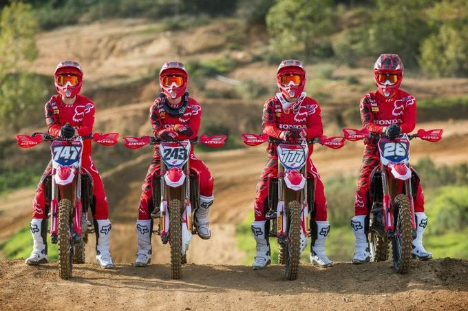 Team Honda HRC 2017