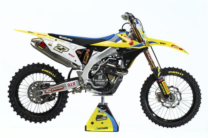 Suzuki World MXGP Team 2017