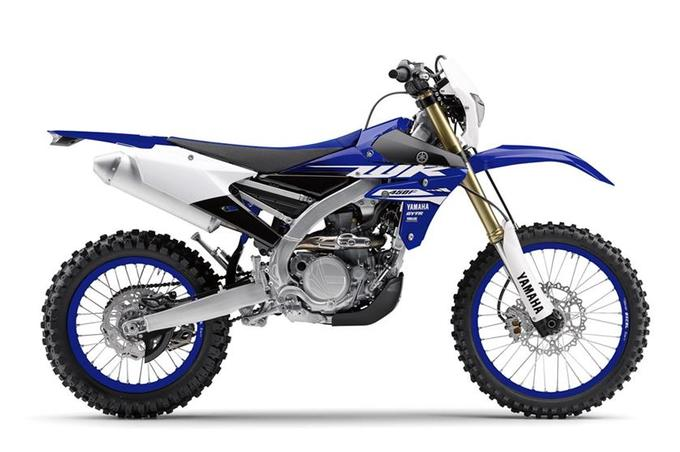 Yamaha WR250F e WR450F 2018