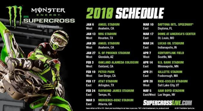 Monster Energy Supercross 2018