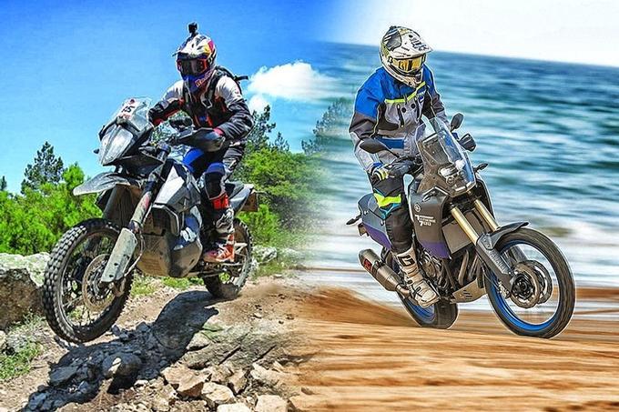 KTM 790 Adventure 790 – Yamaha Ténéré 700