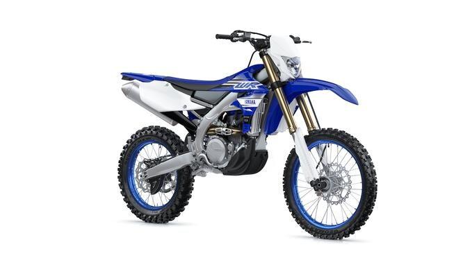 Nuova Yamaha WR450 2019